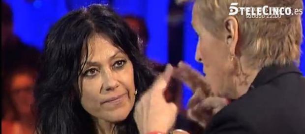 Maite en su entrevista el día de su salida de GH
