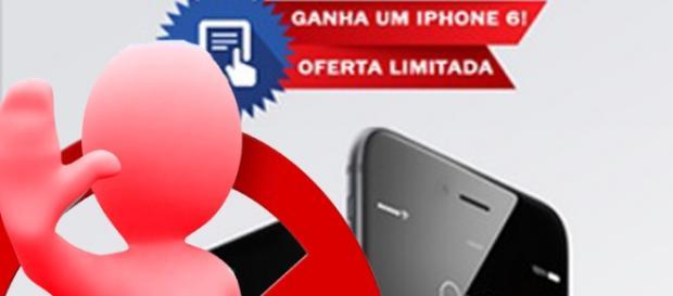 Passatempo iPhone 6 não online não existe.