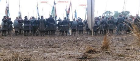 Los norteños en la batalla. WotW