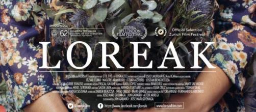 "Cartel de la película ""Loreak""."
