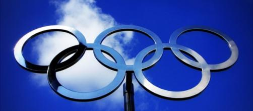 Olympic Rings by Shawn Carpenter