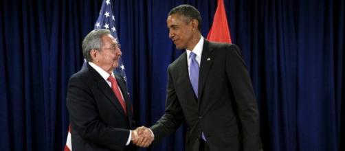 Raúl Castro y Barack Obama (REUTERS)