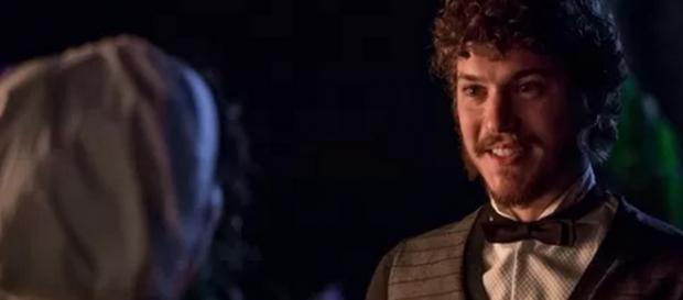 Afonso pede Anita em casamento