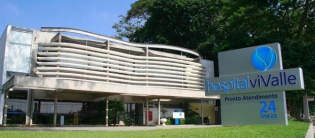 Hospital fica na zona oeste da cidade.