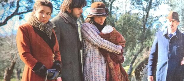 Il Segreto: Maria partorisce la figlia di Gonzalo?