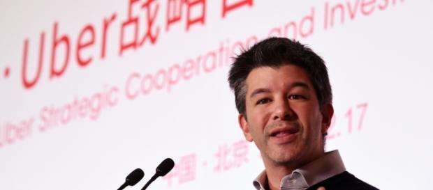 Kalanick, CEO do UBER. Negócio da China.
