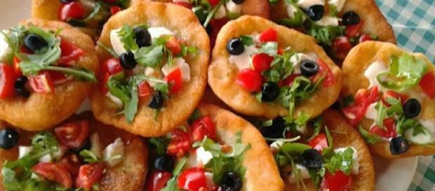 Le pizzette integrali senza lievito