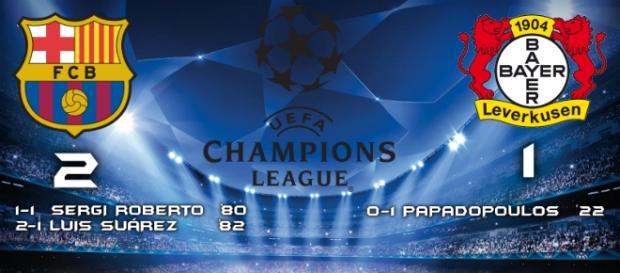 Resultado Barcelona vs Bayer Leverkusen