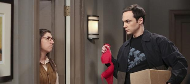 The Big Bang Theory 9x02, Amy e Sheldon