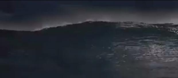 Vaza cena da abertura do Mar Vermelho