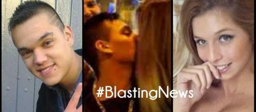 Beso a beso: Romina le comió la boca a Brian