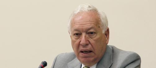 El ministro español en el poder J. M. Margallo