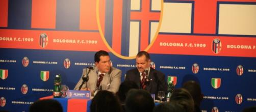 Il presidente del Bologna, Saputo