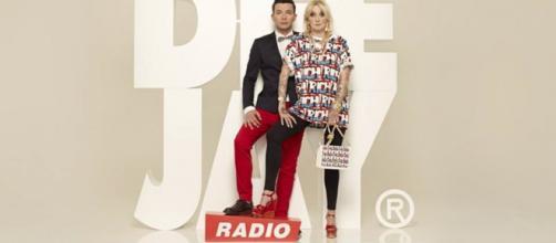 La Pina e Diego di Radio Deejay