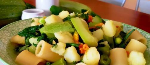 La ricetta dei ditaloni con carne e verdure