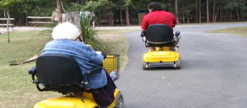 Overweight seniors and Alzheimer's are linked.