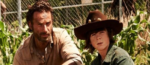 Rick e Carl, The Walking Dead AMC