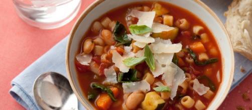 Un minestrone ricco di verdure