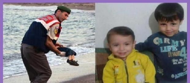 Bimbo siriano Aylan Kurdi morto annegato immagine