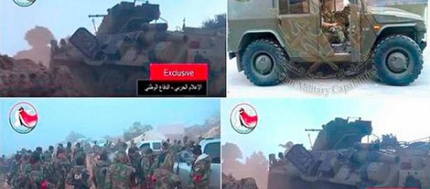 I russi affiancano l'esercito di Assad in Siria