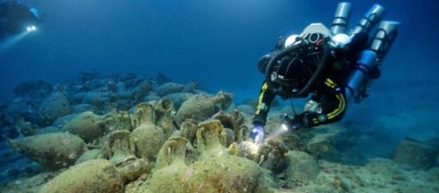 Ritrovati relitti al largo delle coste siracusane-
