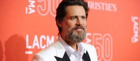 Aspecto de Jim Carrey en los últimos meses de 2015