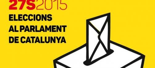Cartel de las elecciones catalanas de 2015.
