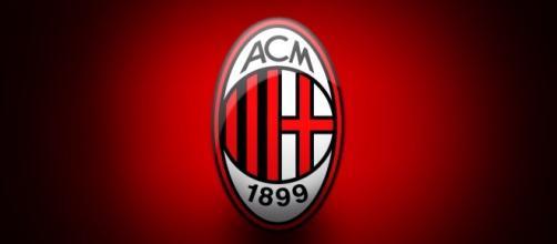 Emblema della società Milan calcio