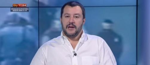 Matteo Salvini leader Lega Nord