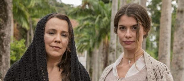 Alinne Moraes é Lívia em 'Além do Tempo'