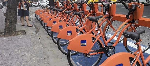 Bicicletas compartilhadas em São Paulo