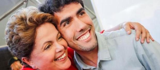 Dilma e Jeferson Monteiro (Google Imagens)