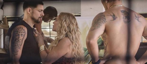 Susana e Cauã fazem barraco na Globo