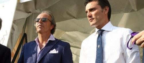 Andrea Della Valle e Vincenzo Montella
