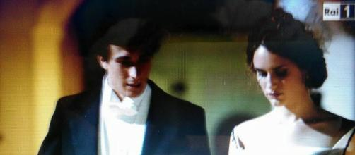 I due protagonisti di Grand Hotel in una scena.