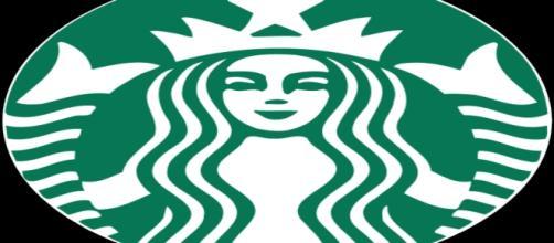 Il logo di Starbucks con la sirena a due code