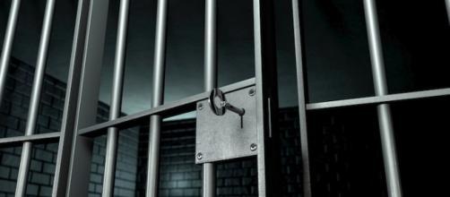 Le sbarre in ferro di un penitenziario