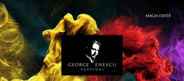 """Afișul Festivalului Internațional """"George Enescu"""""""
