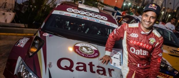 Al-Attiyah y su nuevo Skoda Fabia R5