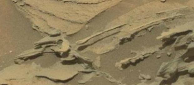 La foto del cucchiaio su Marte