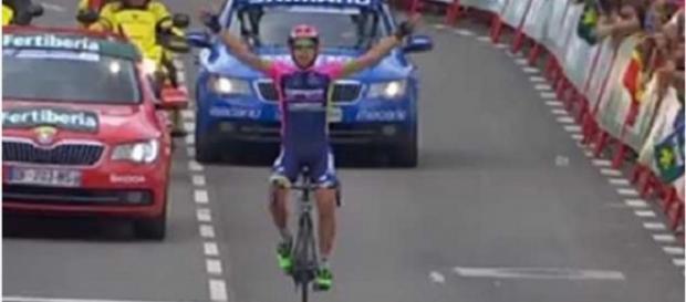 Nelson Oliveira da Lampre vence etapa na Vuelta