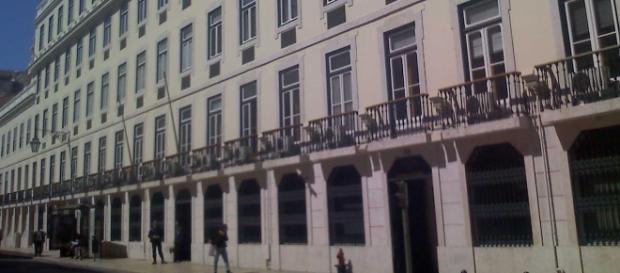 Sede do Banco de Portugal, na Baixa de Lisboa