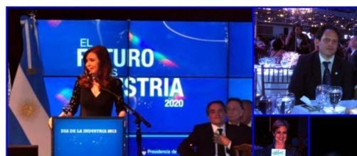 CFK en defensa de la industia nacional
