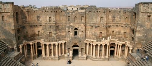 Esta es Bosra en todo su esplendor, Siria.