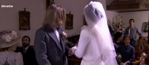 Una Vita: Pablo irrompe al matrimonio!