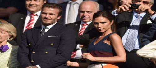 David y Victoria Beckham separados