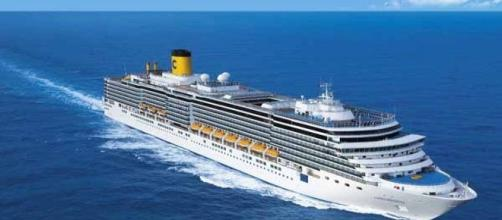 e' giallo sulla caduta da una nave da crociera