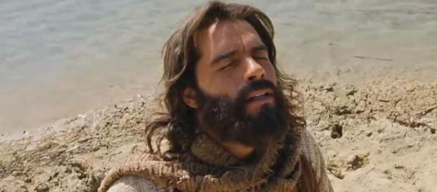 Foto: TV Record - Moisés clama à Deus