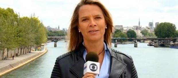 Luís Roberto insinua que repórter pinta o cabelo