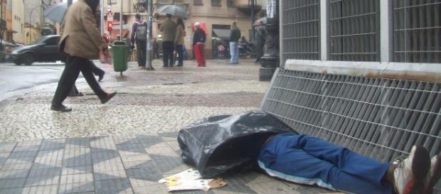 Morador de rua foi o herói para Elenilda.